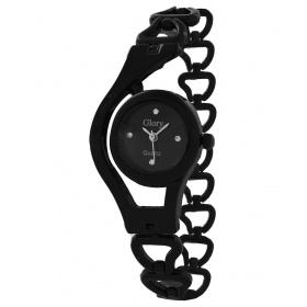 Festival Offer New Stylish Black Fancy Ladies Watch 055