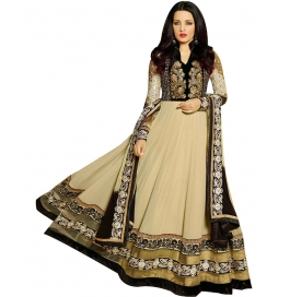 Brown Color Suit With Bottom And Dupatta