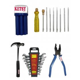 Ketsy 555 Hand Tool Kit 19 Pcs