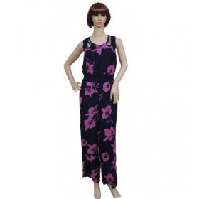Sarva Partywear Jumpsuit Georgette Printed