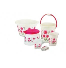 Mayo Glamour 6 Pcs Bathroom Set