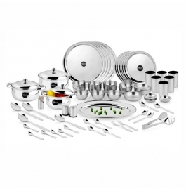 Steelcraft 87 Pc Premium Dinner Set