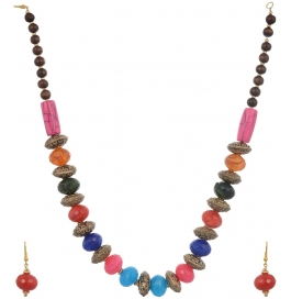 Loveesa Kashish Pink Artificial Jewellery