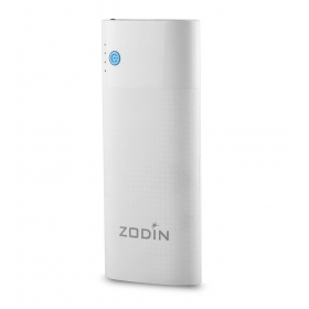 Zodin Zl-100 10000mah Power Bank ( White-blue)
