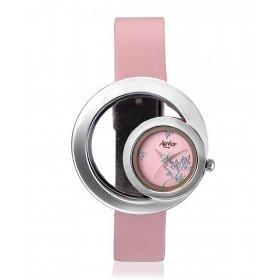 Aavior Women's Analog Pink Dial Wrist Watch-aa-1089
