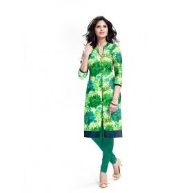 Exclusive Designer Green Kurti