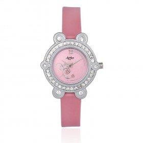 Aavior Women's Analog White Dial Wrist Watch-aa-1079.2