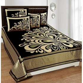 King Size Bedsheet With 2 Pillow Covers,double Bedsheet With Pillow Cover
