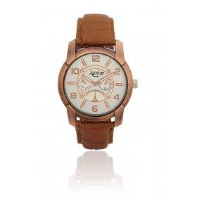 Aavior Men's Analog White Dial Chronograph Wrist Watch-aa-139