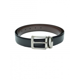 Black Reversible Fashion Leather Belt