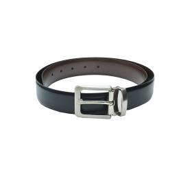 Black Reversible Fashion Leather Belt