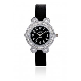 Aavior Women's Analog Black Dial Wrist Watch-aa-1081