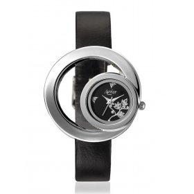 Avior Women's Analog Black Dial Wrist Watch-aa-1088