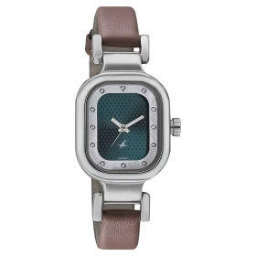 Fastrack Analog Black Dial Watch For Women-6145sl02