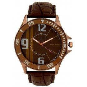 Aavior Men's Analog Brown Dial Wrist Watch-aa-176