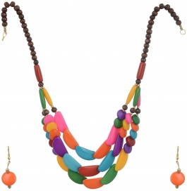 Loveesa Rangolee 3 Layer Artificial Jewellery