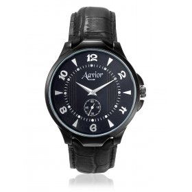 Aavior Men's Analog Black Dial Wrist Watch-aa-110