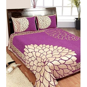 Chenille King Bedcover With Pillow Cover