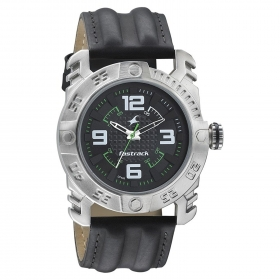 Fastrack Men's Analogue Black Dial Watch - 3148sl01
