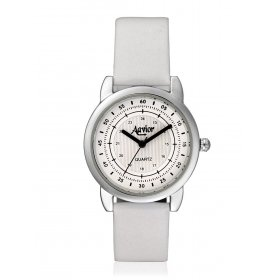 Aavior Women's Analog White Dial Wrist Watch-aa-1104