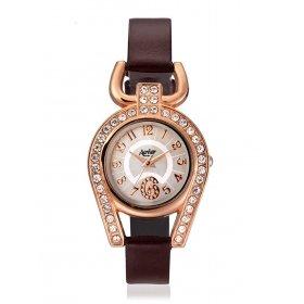Aavior Women's Analog Grey Dial Wrist Watch-aa-1086