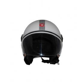 Creta Creta-white-helmet - Open Face Helmet White M