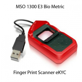 Mso 1300 E3 Bio Metric Finger Print Scanner For Aadhaar Ekyc (all-in-one Version)