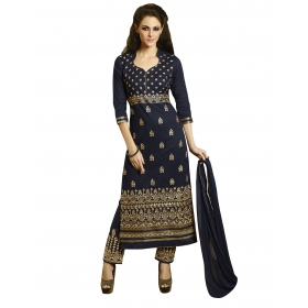 Heavy Embroidery Salwar Suit Dupatta