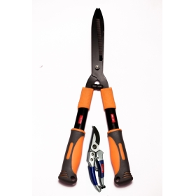 Ketsy 714 Gardening Hedge Shear 54 Cm And 8 Inch Aluminum Pruning Shear