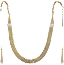 Loveesa Ethinic Jewellery For Women Adaa (golden)