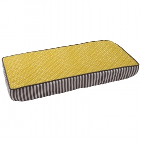 Dots/pin Stripes Yellow Pin Dots Changing Pad Cover