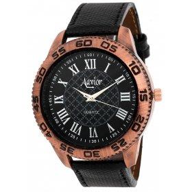 Aavior Men's Black Dial Analog Wrist Watch -aa.079