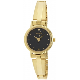 Sonata Analog Black Dial Women's Watch - 8096ym03