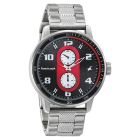 Fastrack Men's Analogue Multi-colour Dial Watch - 3159sm01