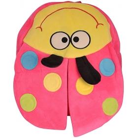 Ladybug Velvet Baby Bag