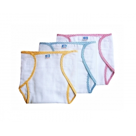 Velcro Nappies - New Born, Small Set Of 3