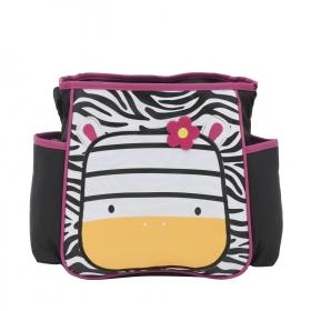 Black Zebra Baby Diaper Bag Nappy Mummy Bag Print Maternity Handbag Changing Baby Messenger Bag (zebra)