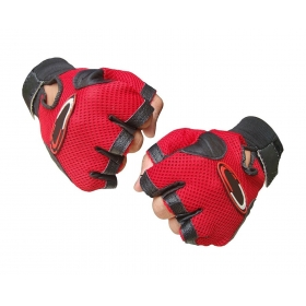 Leather Padding Gloves  With Support