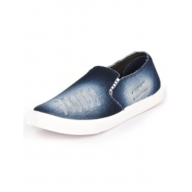 Blue Men's Loafers Shoes