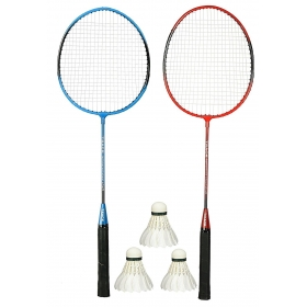 Badminton Set, Pack Of Two Racquet With 3