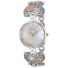 Titan Raga Aurora Analog Silver Dial Women's Watch-2567km01