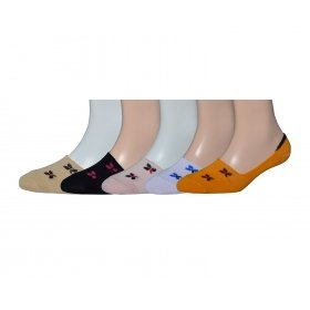 Footmate Socks Women's Belly Socks Multi Color 4292-3 (pack Of 5)