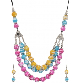 Loveesa Sindhu Bindh Ethnic Multicolor Jewelry