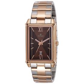Titan Regalia Rome Analog Brown Dial Men's Watch-1720km01