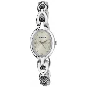 Sonata Analog Multicolor Dial Women's Watch 8048sm04c