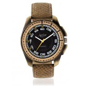 Aavior Men's Analog Black Dial Wrist Watch-aa-168