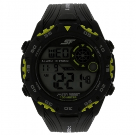 Black Strap Digital Watch (77068pp02j)