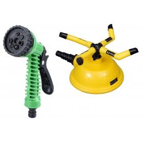 Ketsy 791 2 Pcs. Water Spray Gun And Water Sprinkler 4 Arm