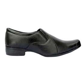 Sunbright Men's Shoes Black Formal Slip On 204_6