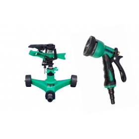 Ketsy 806 Gardening Water Spray Gun 8 Way Nozzle Heavy Duty